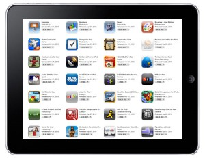 Apple iPad apps