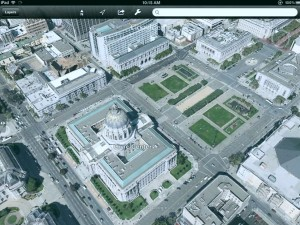 3D Google Maps on iPad