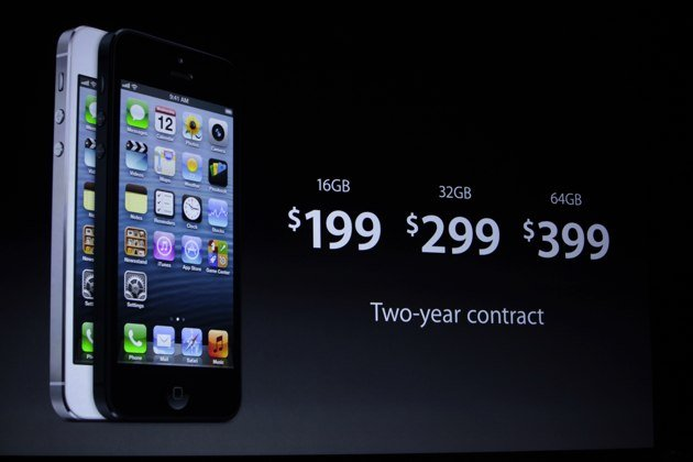 Apple iPhone 5 Debut