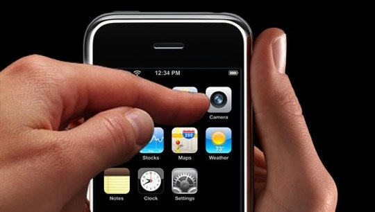 Apple touch-screen