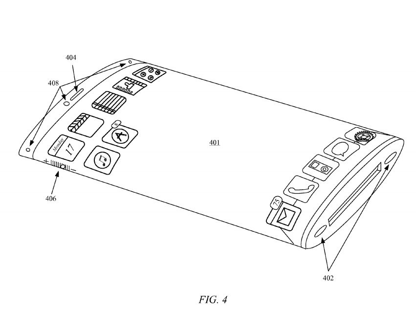 Apple's New Wrap-Around Screen Patent