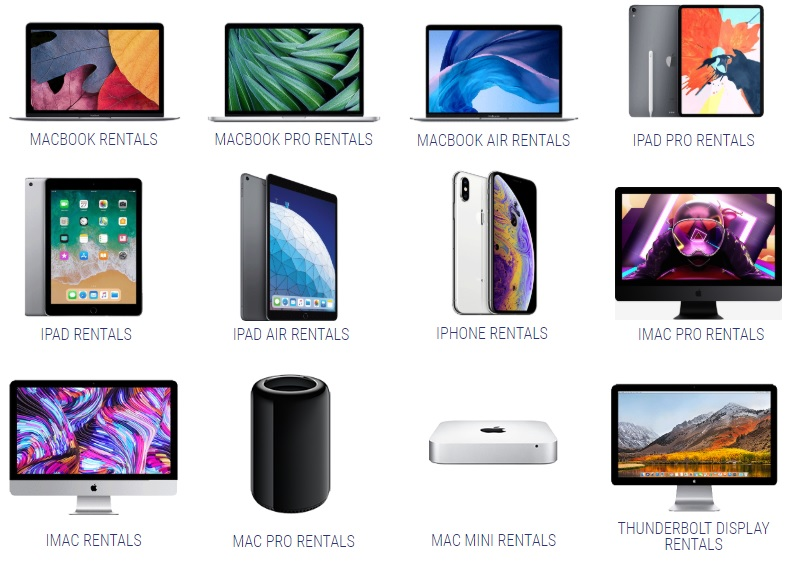 Apple Rental Inventory