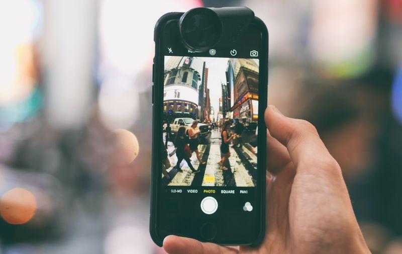 iphone 11 video editing tilt shift lens